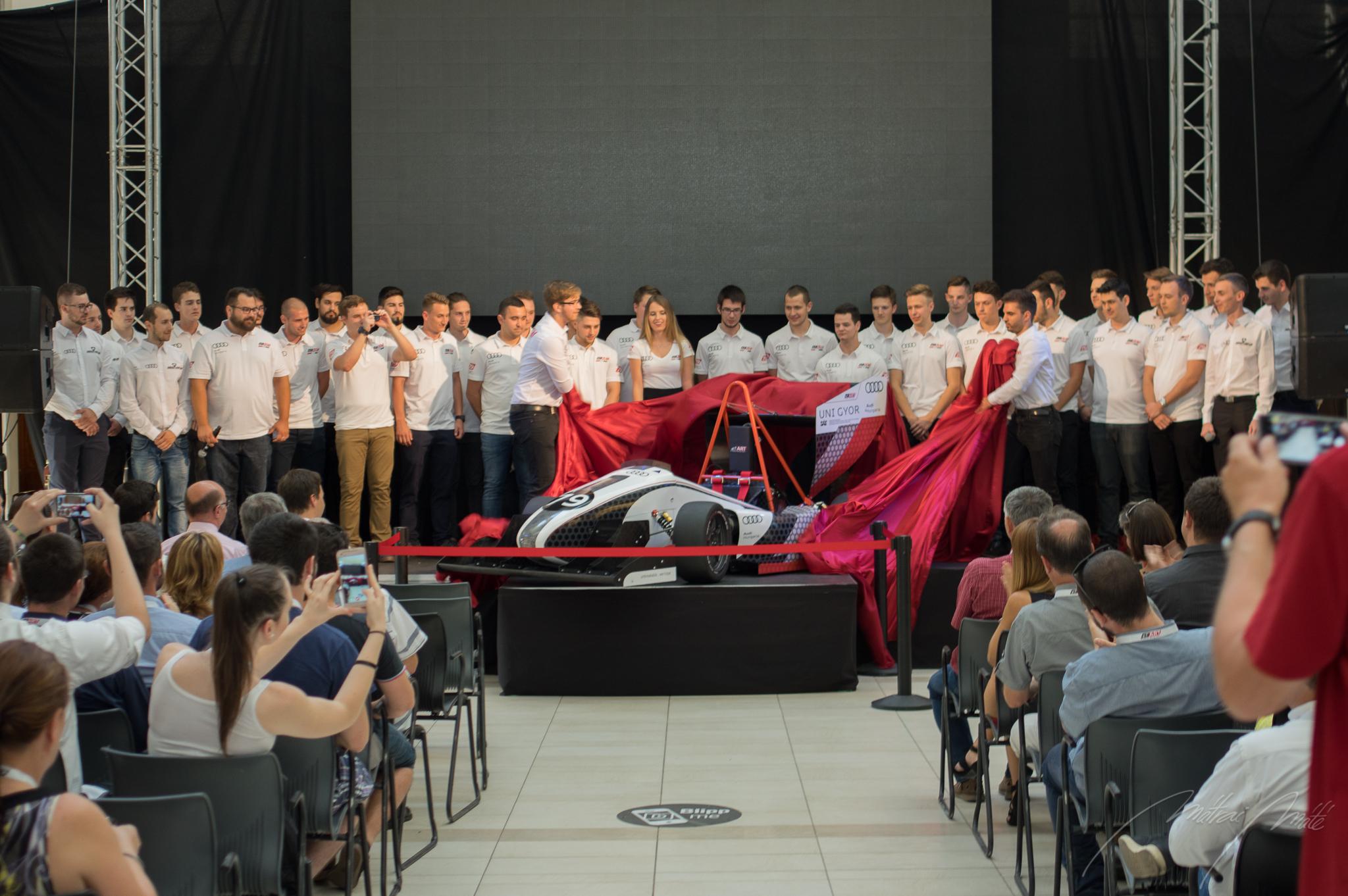 Elkészült az Arrabona Racing Team új autója