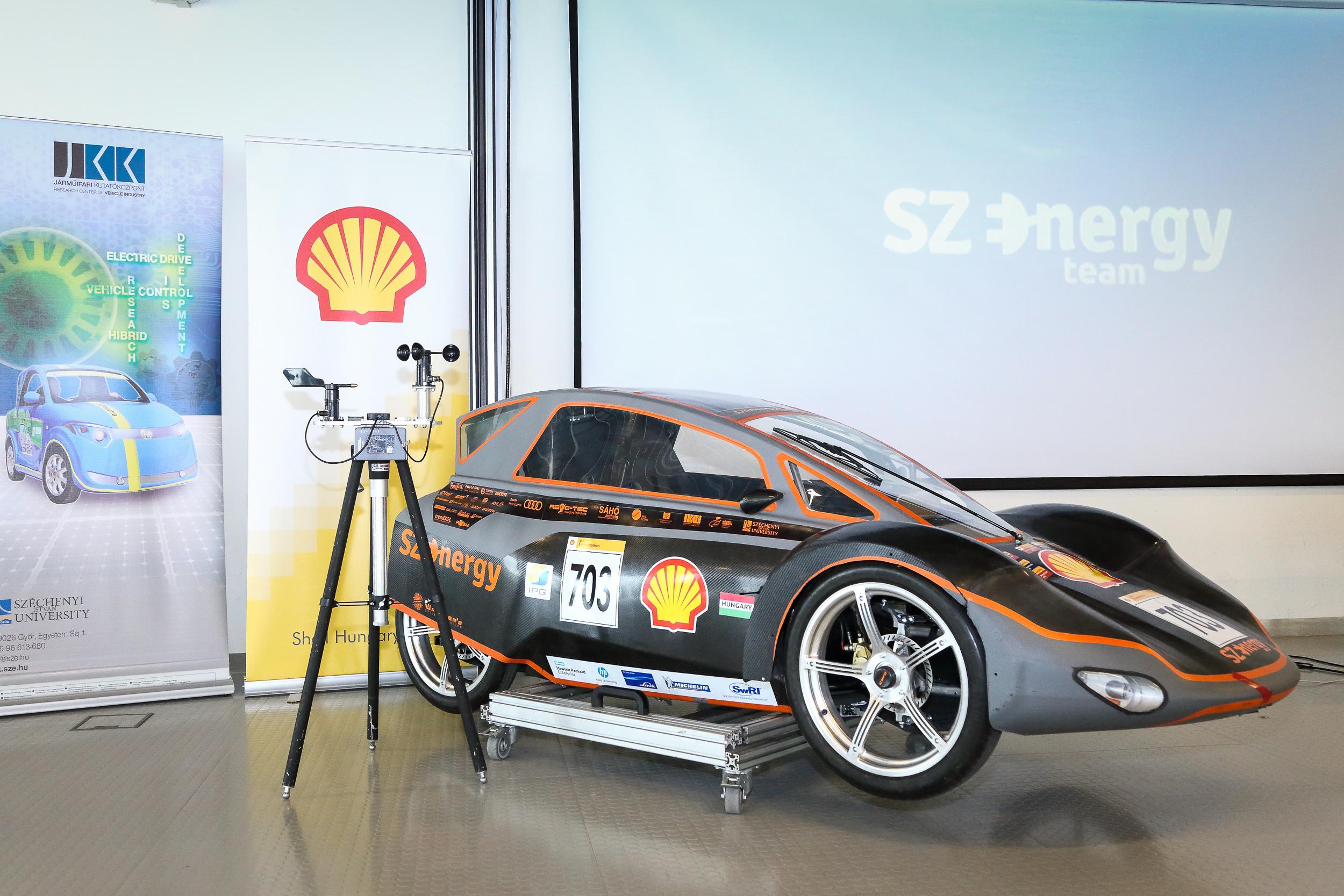 A SZEnergy Team, az egyetem alternatív járműfejlesztő csapata Londonba készül