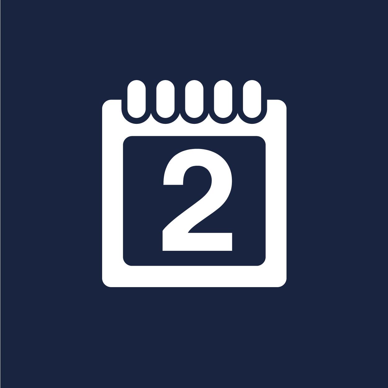 Fontos határidők - tanévi időbeosztás